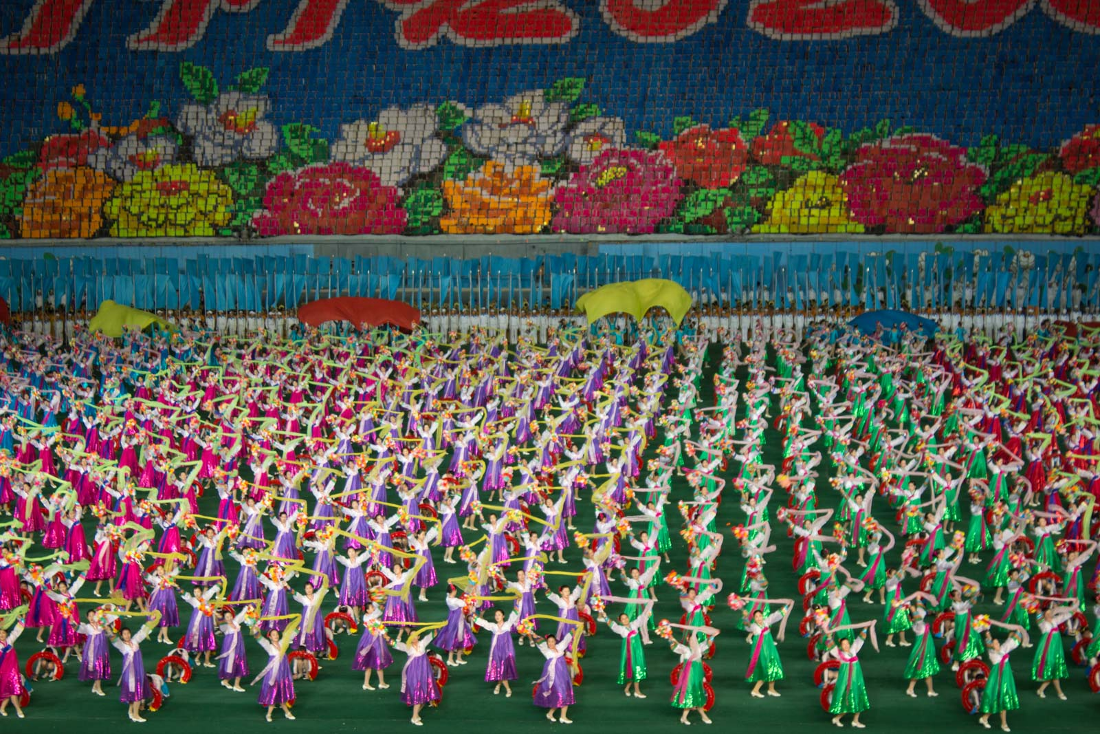 The Mass Games, Pyongyang, North Korea