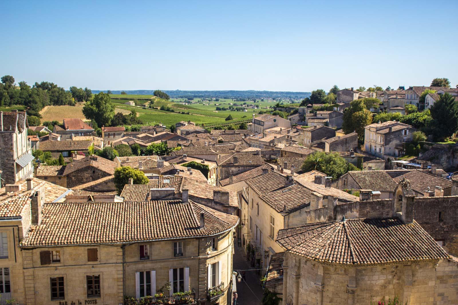 Vineyards of Saint-Emilion, France