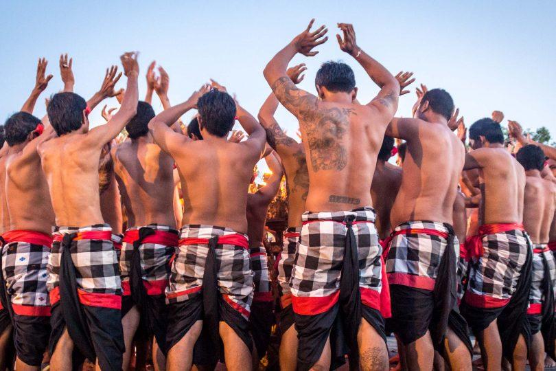Bali's Kecak Fire Dance