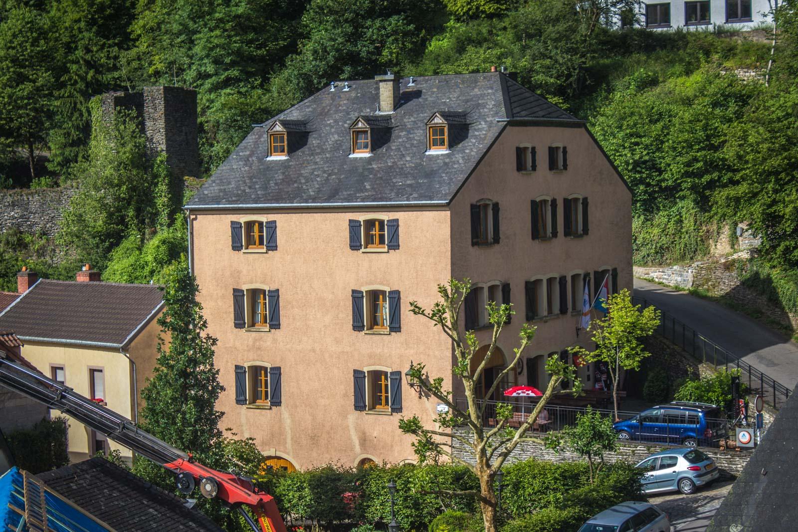 Luxembourg hostels, accommodation, viandan, bourglinster, echternach