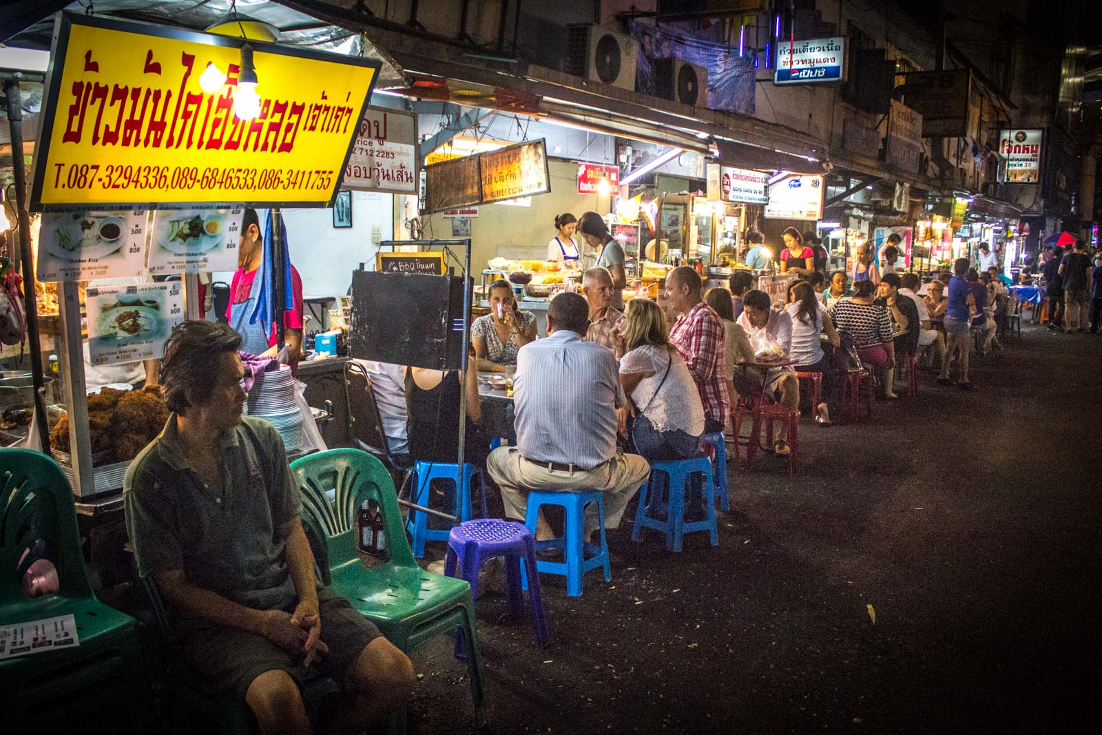 best street food in Bangkok, Thailand, street food in sukhumvit