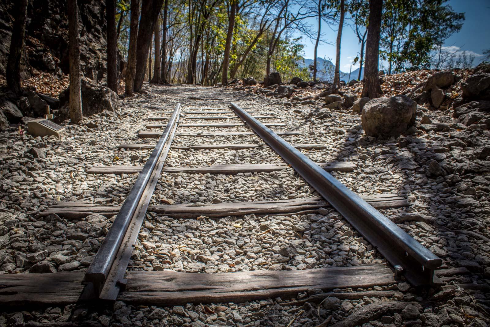 Hellfire Pass, Thailand Burma Railway War Memorial near Kanchanaburi, Thailand