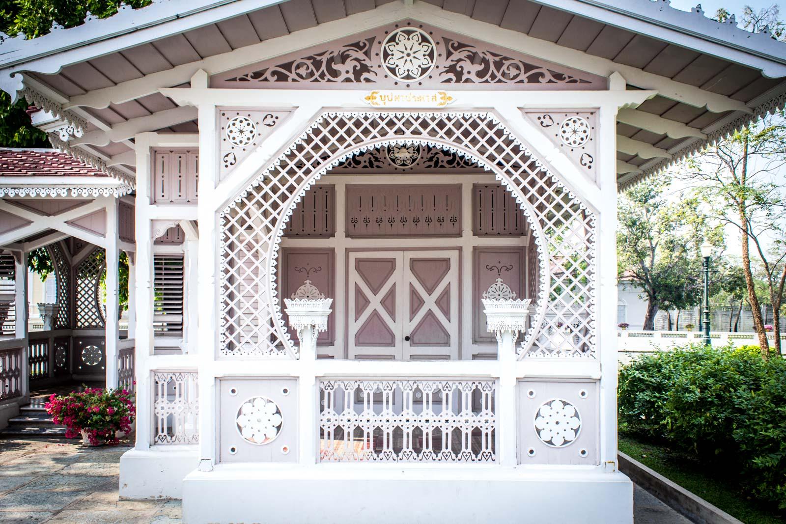 Bang Pa-In Palace, royal summer palace, Thailand