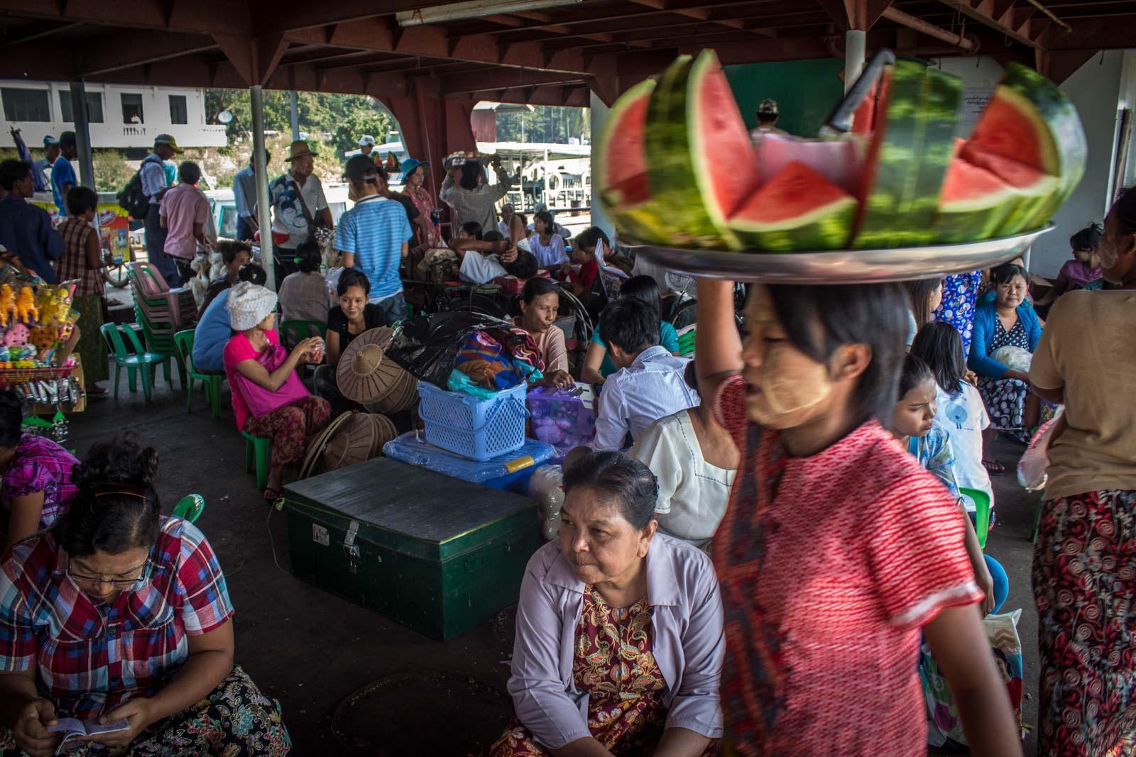 Getting to Twante from Yangon, Snake Temple, Myanmar