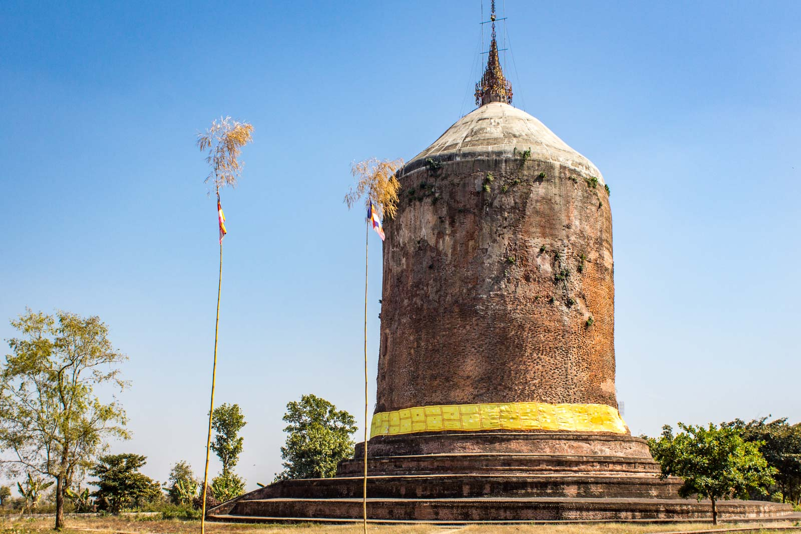 Pyu city Sri Kestra, Pyay, Myanmar, Burma, UNESCO World Heritage in Myanmar