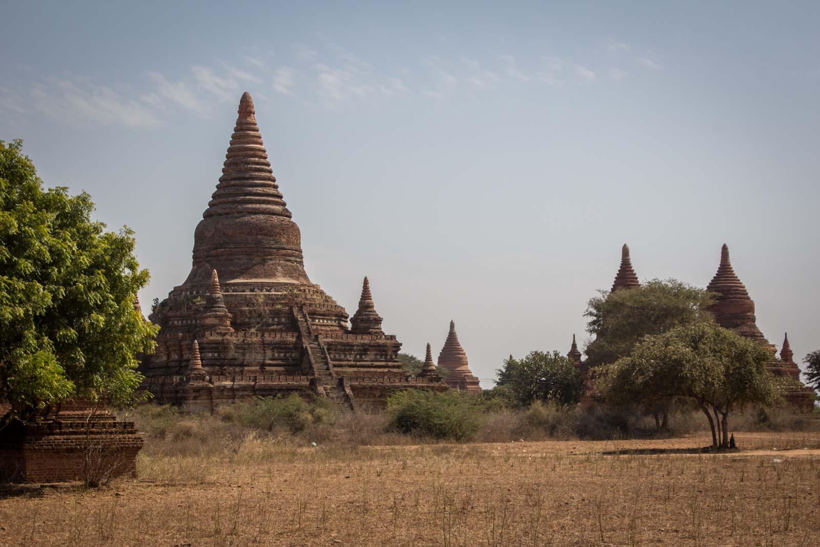 The ancient city of Bagan, Myanmar