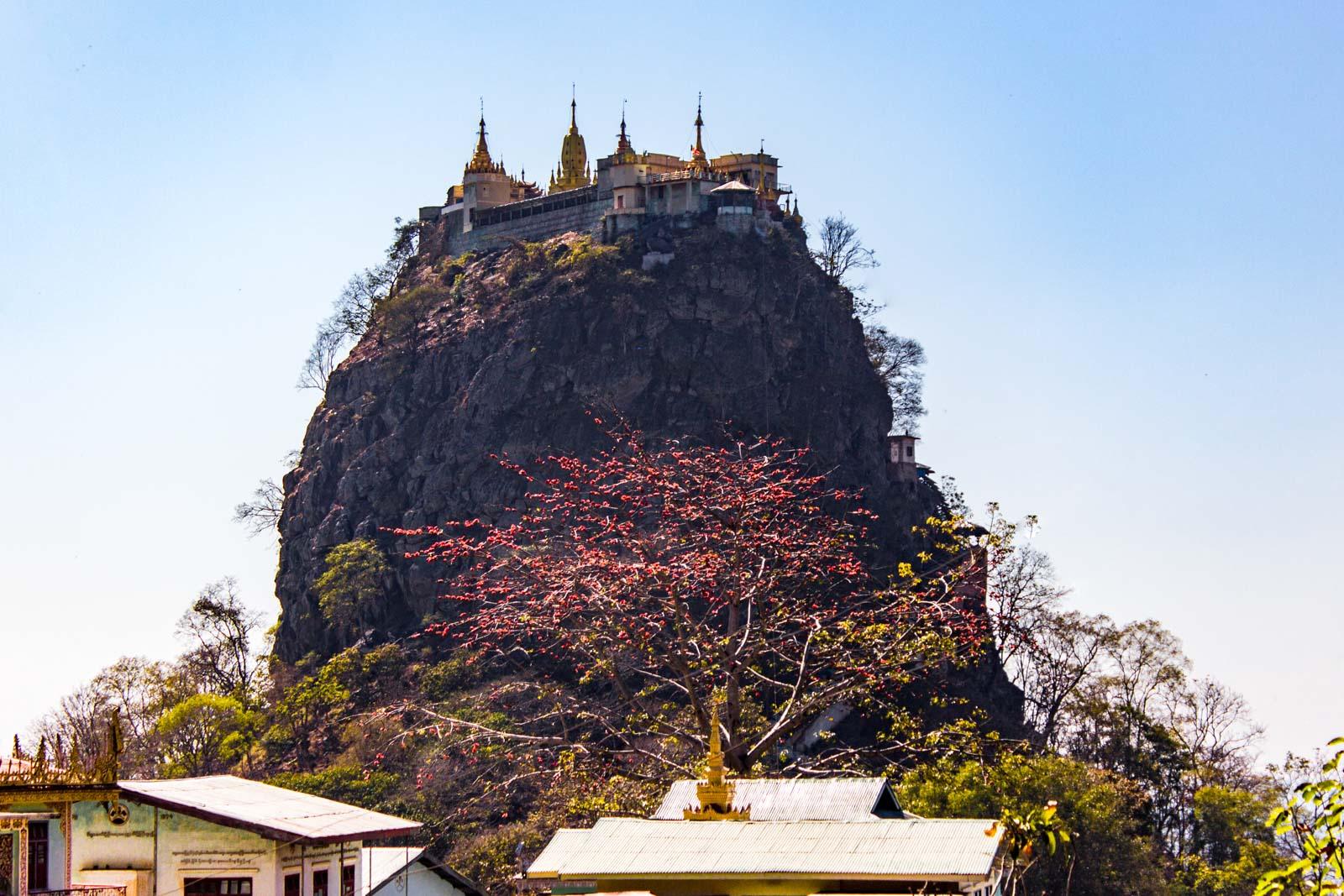Mount Popa Monastery, near Bagan, Myanmar