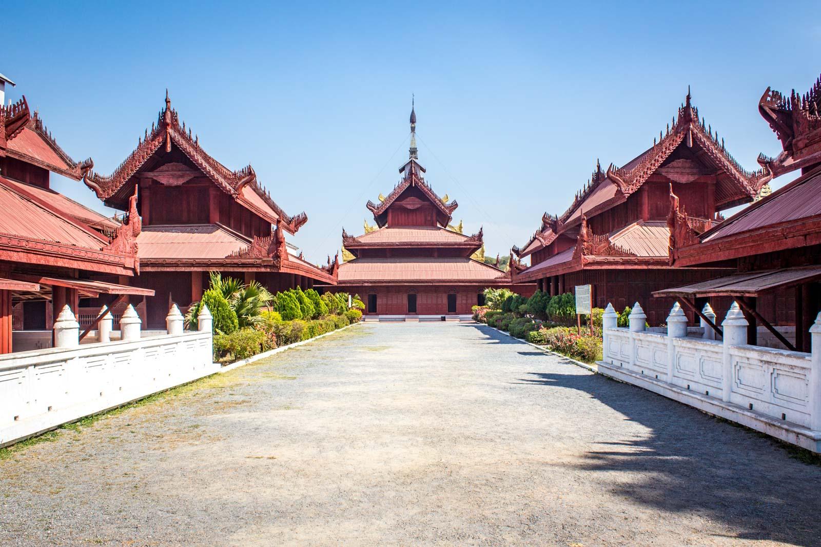 Royal Palace, Mandalay Palace, Myanmar