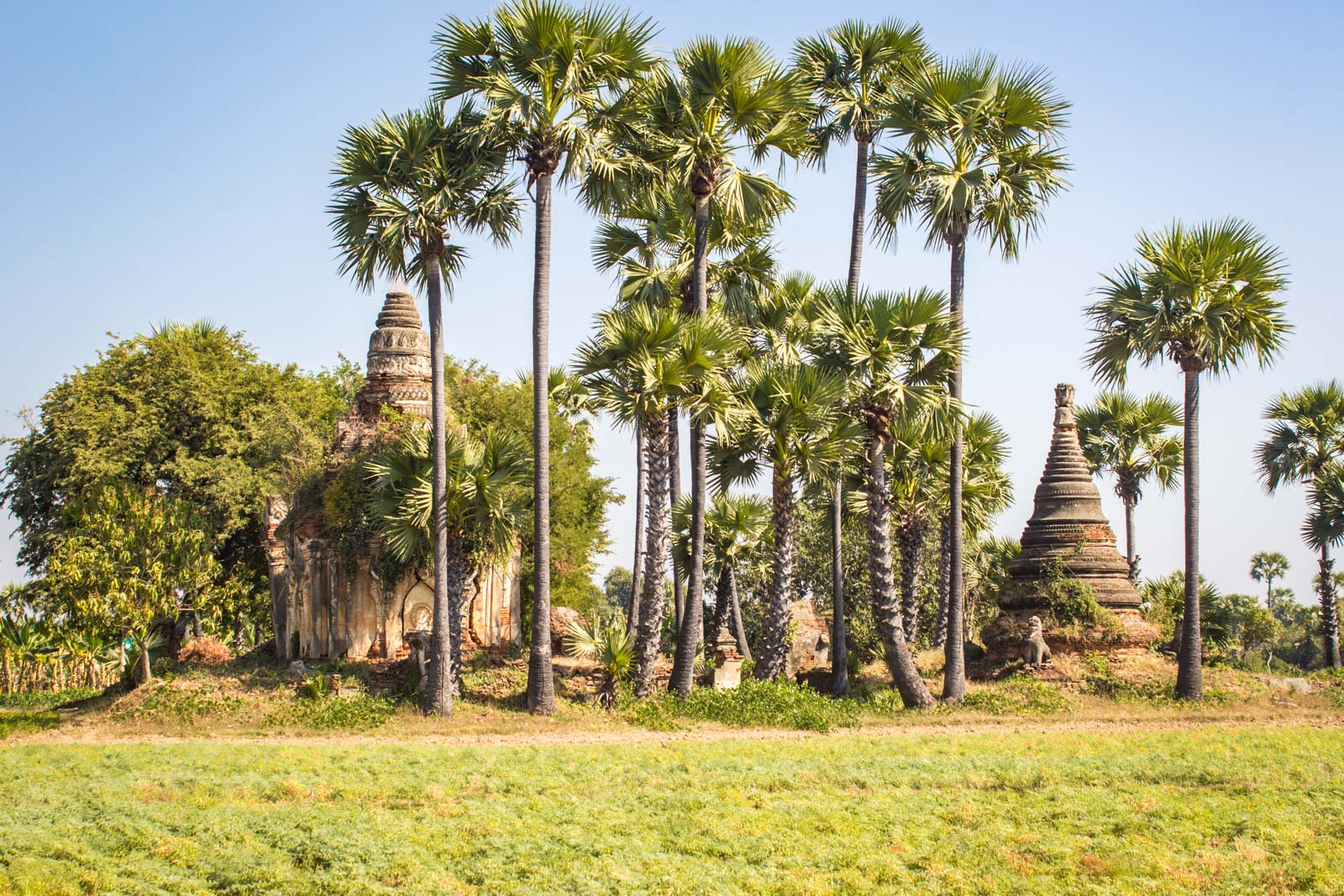 Inwa near Mandalay, Myanmar