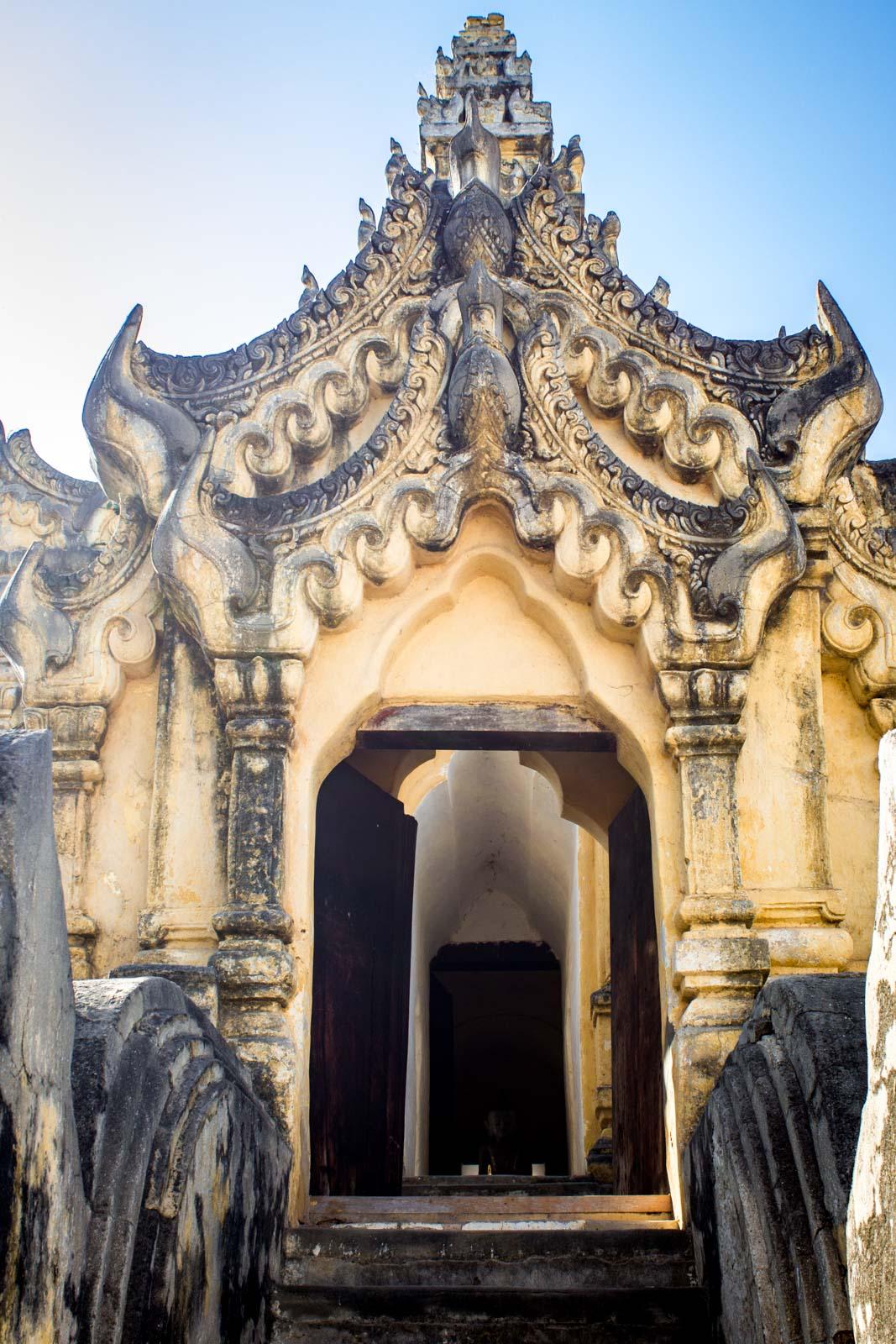 Inwa near Mandalay, Myanmar