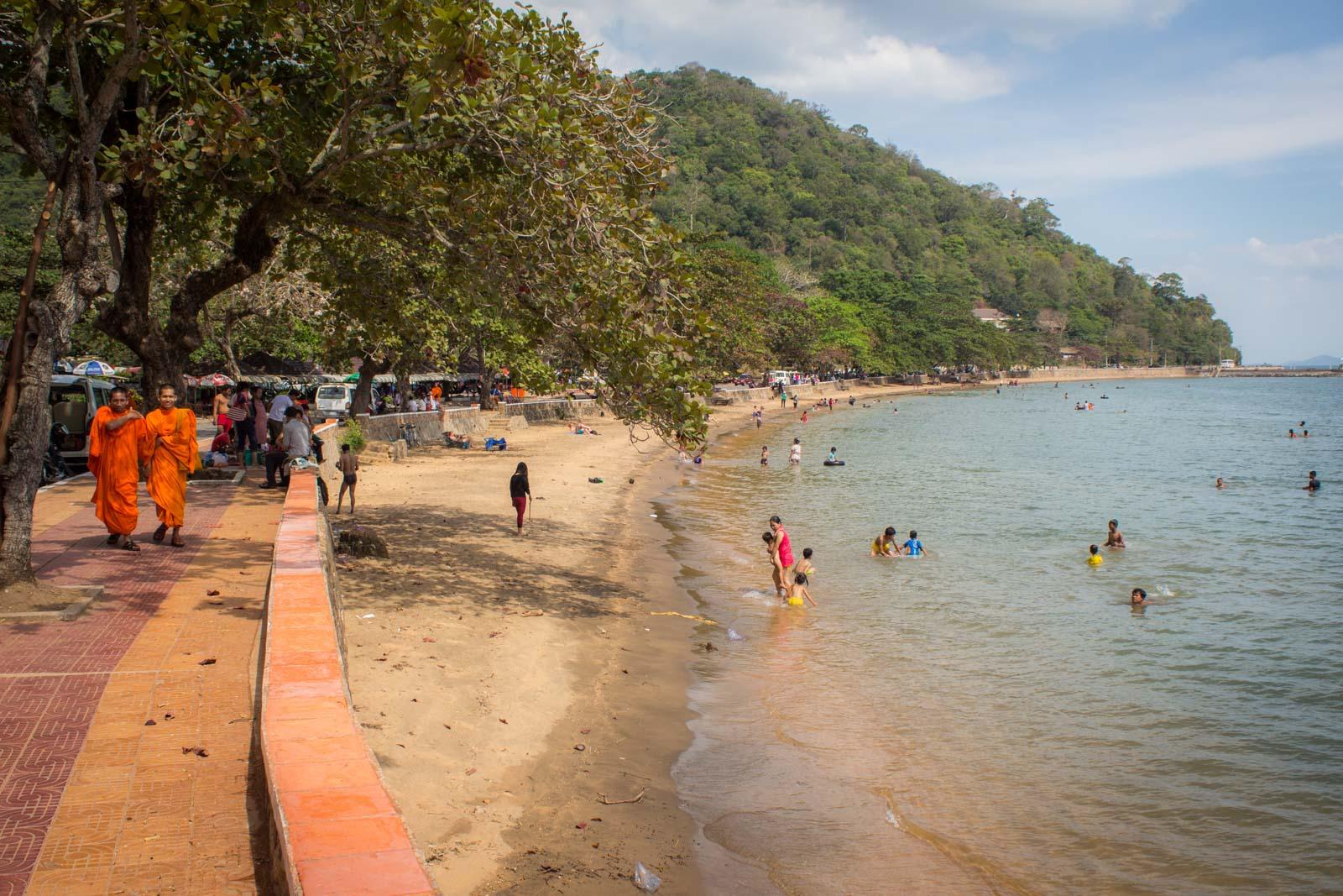 kep beach, cambodia, kep, crabs, kampot pepper, beaches in cambodia