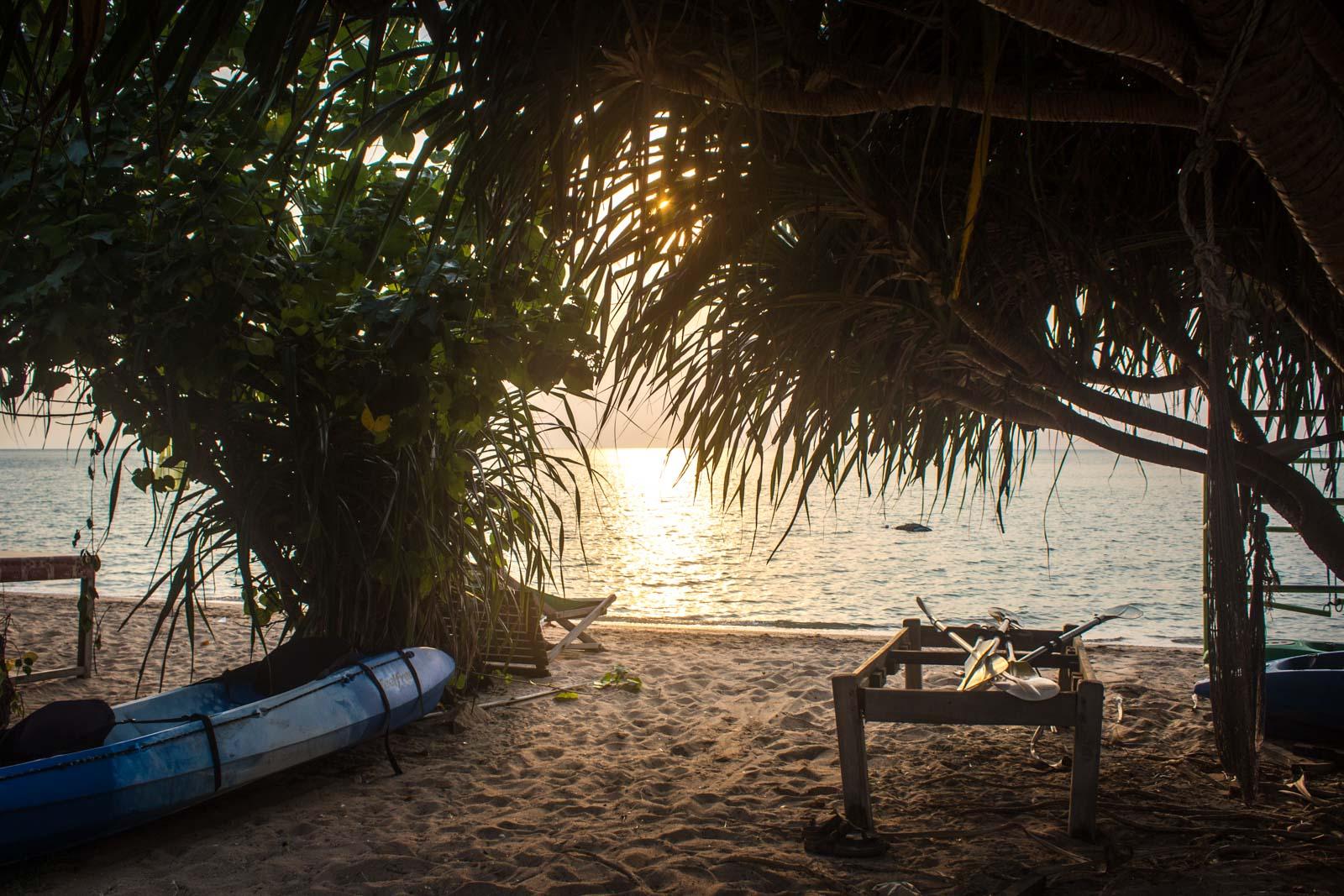 Rabbit Island, Kep, Cambodia