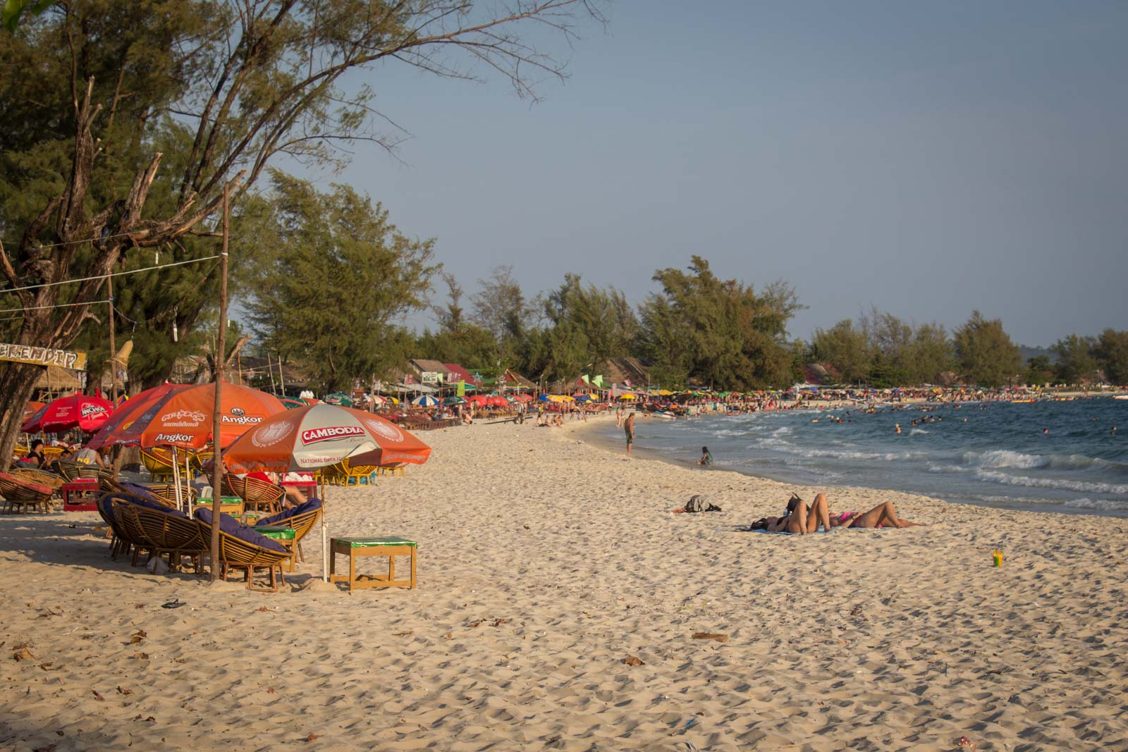 sihanoukville, cambodia, serendipity beach, bars, parties, backpackers in sihanoukville