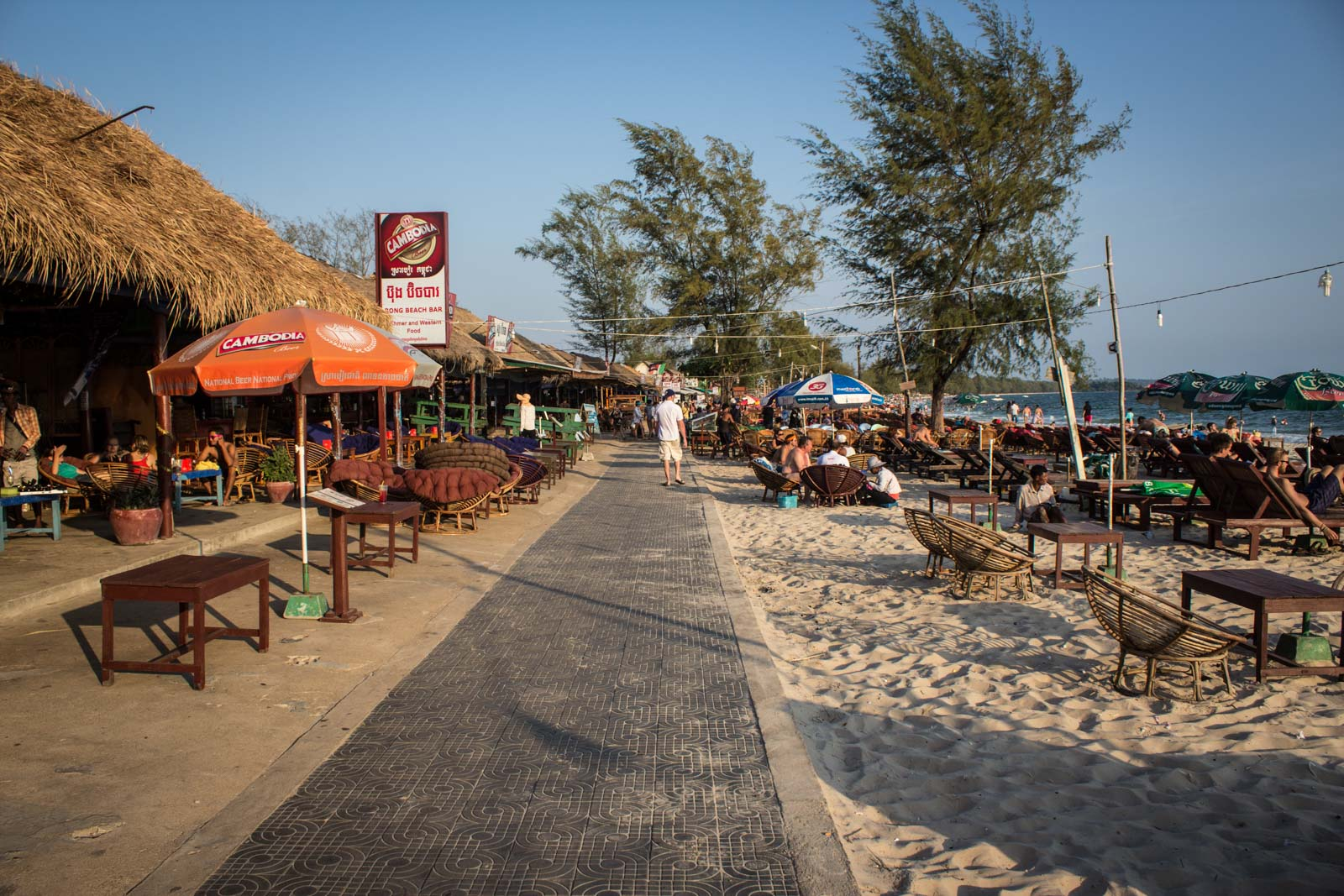 Sihanoukville Cambodia Serendipity Beach Bars Parties Backpackers In