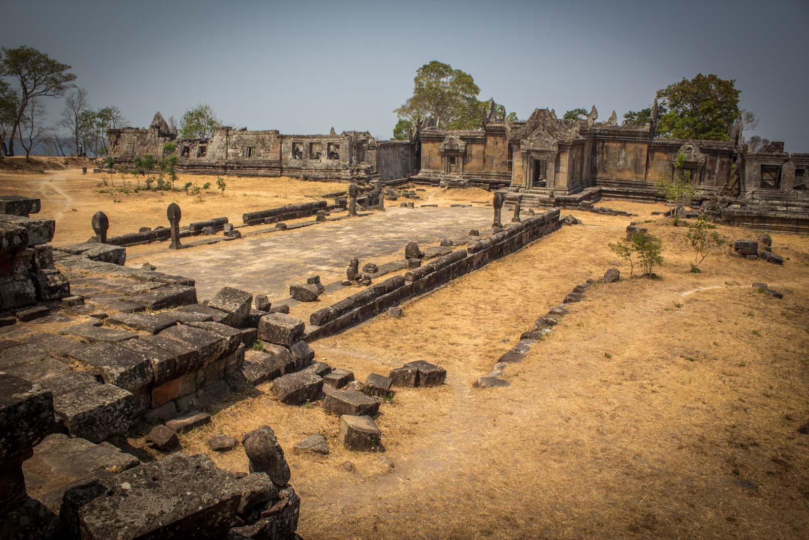Visiting Preah Vihea temple, Cambodia