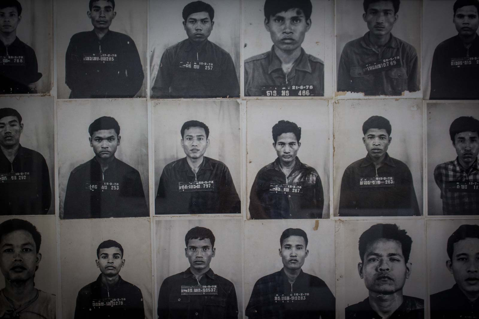 s21 prison, tuol sleng genocide museum, Phnom penh, cambodia