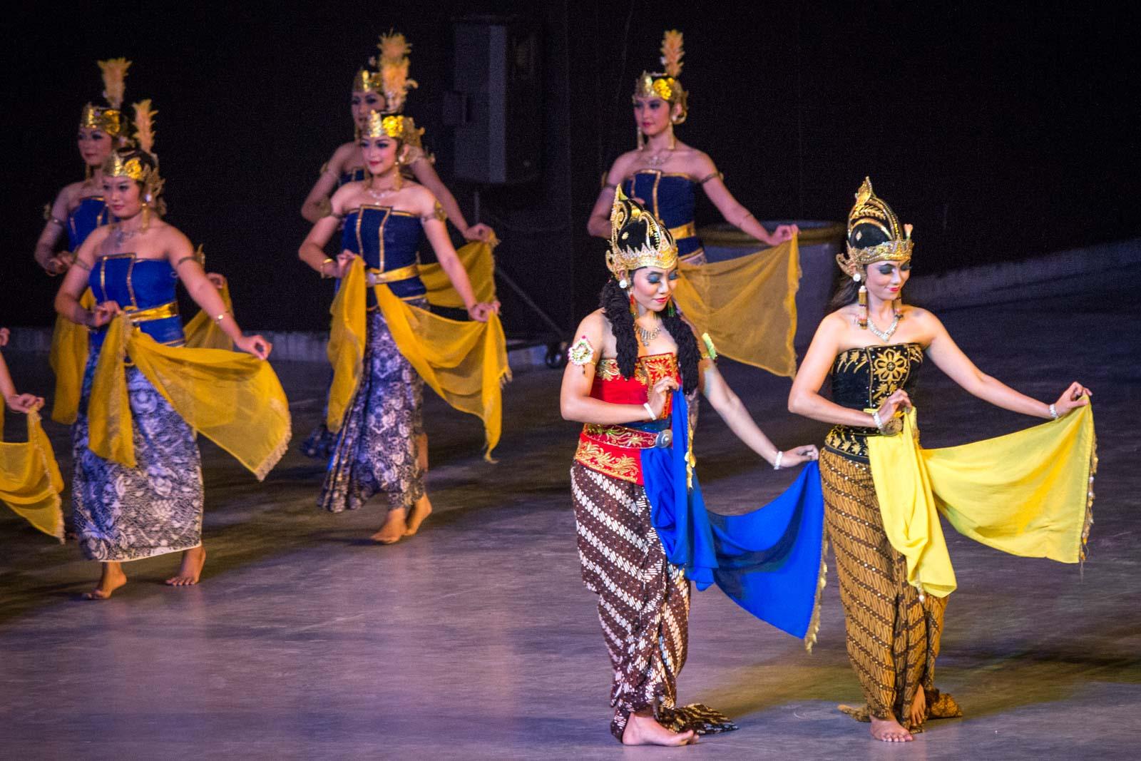 Ramayana Ballet at Prambanan Temple in Yogyakarta, Indonesia