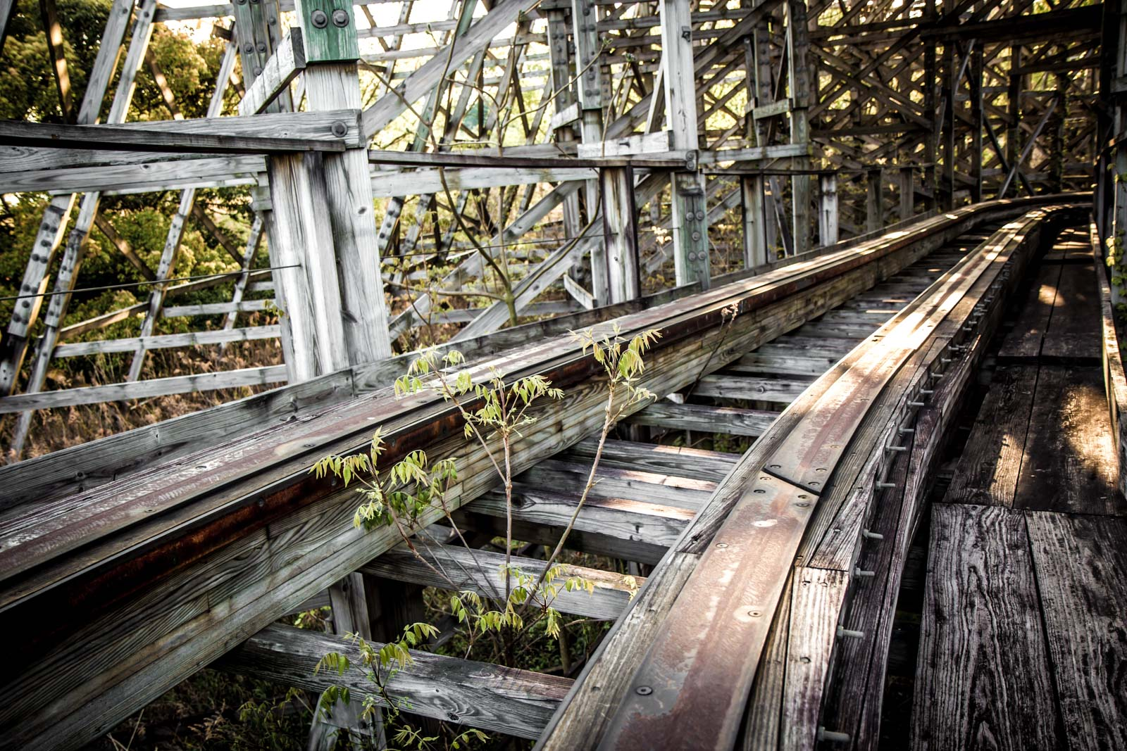 Nara Dreamland, abandoned theme park, Nara, Japan