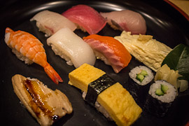 nigiri zushi, japanese food, japanese dishes, japanese cuisine, types of sushi, rice and raw fish
