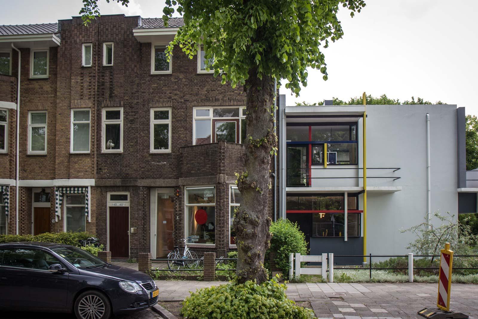 Rietveld schroder house utrecht the netherlands