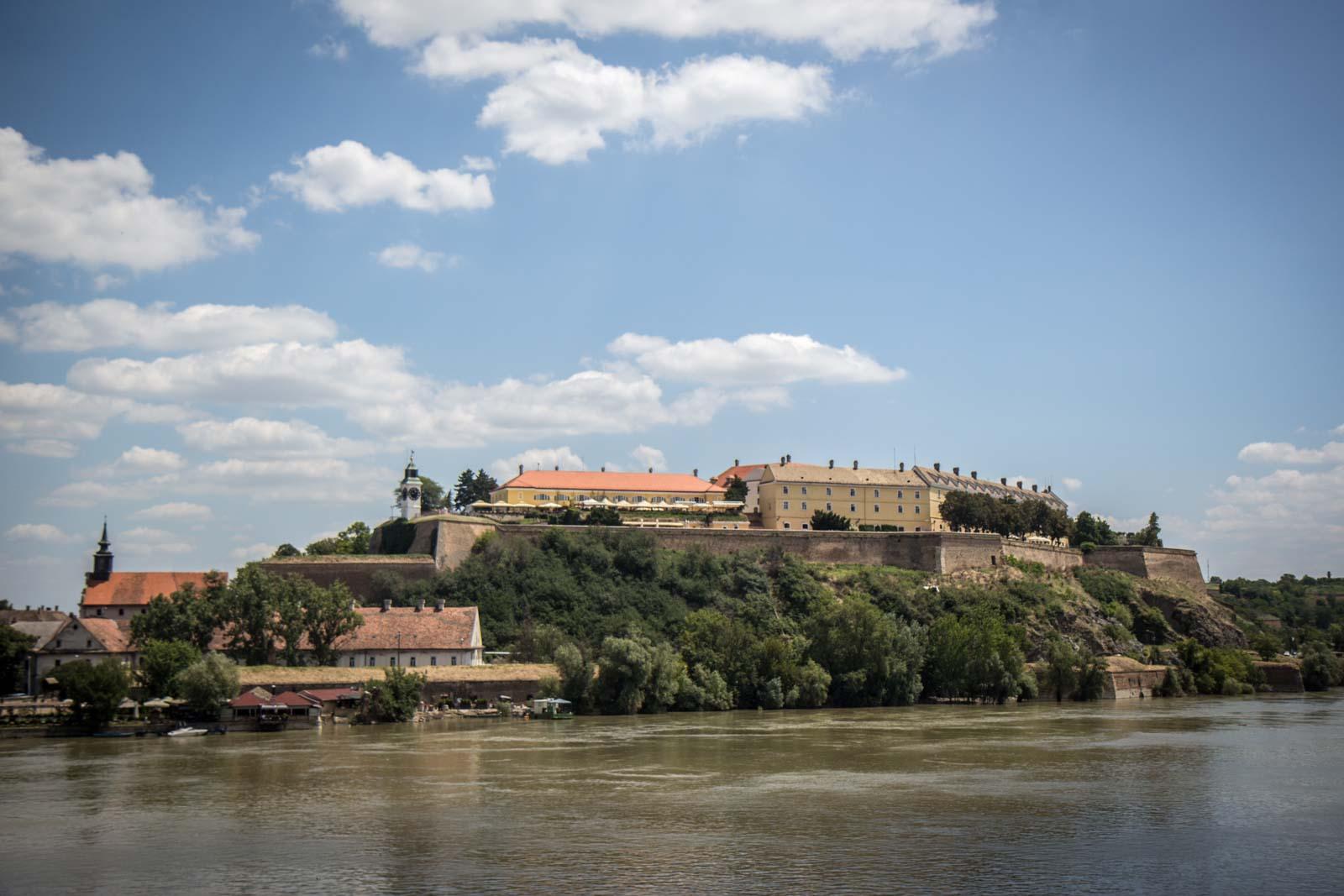 Arriving in Serbia to Novi Sad