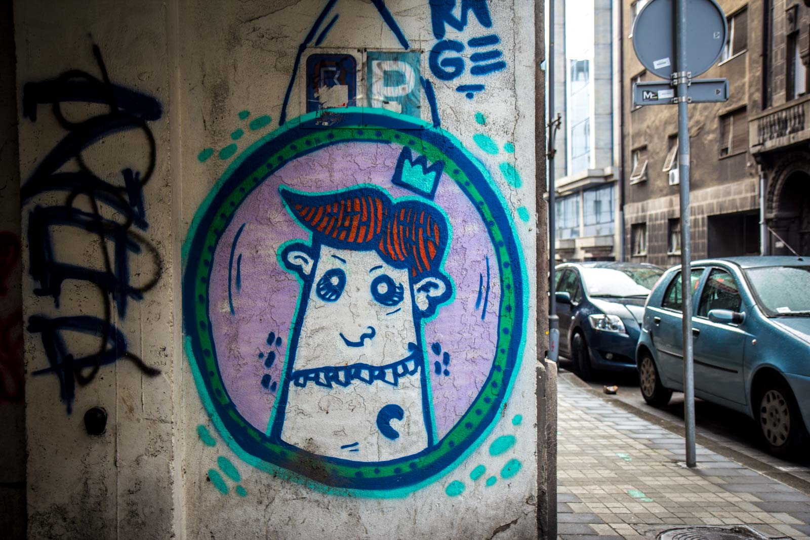 belgrade street art, graffiti in serbia
