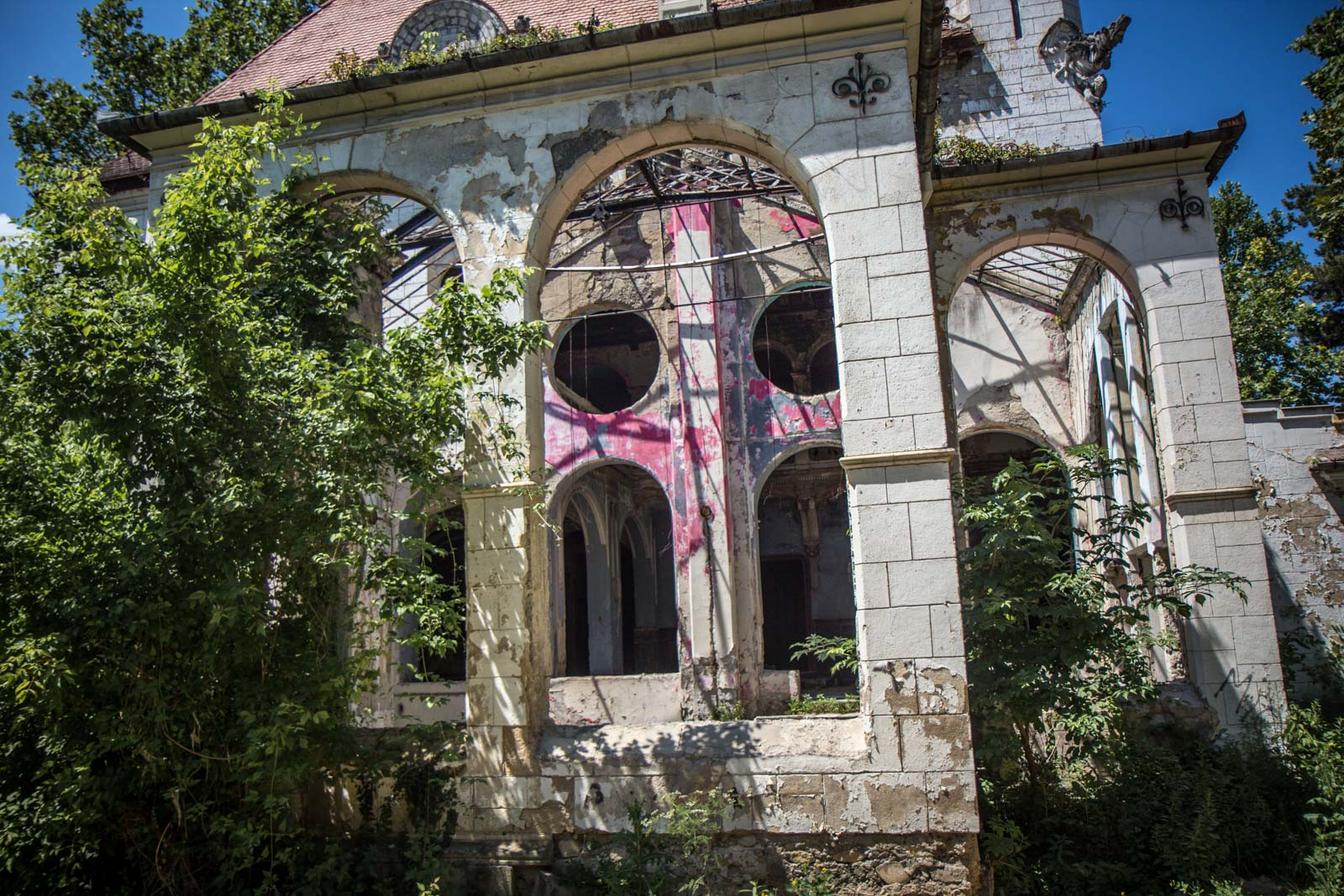 Abandoned house, Spitzer family house, Beočin, Serbia