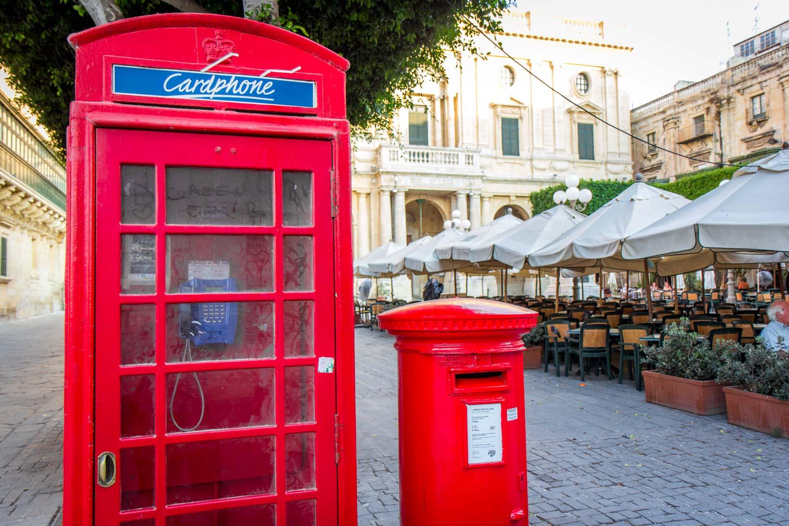 World Heritage Site of old Valletta, Malta