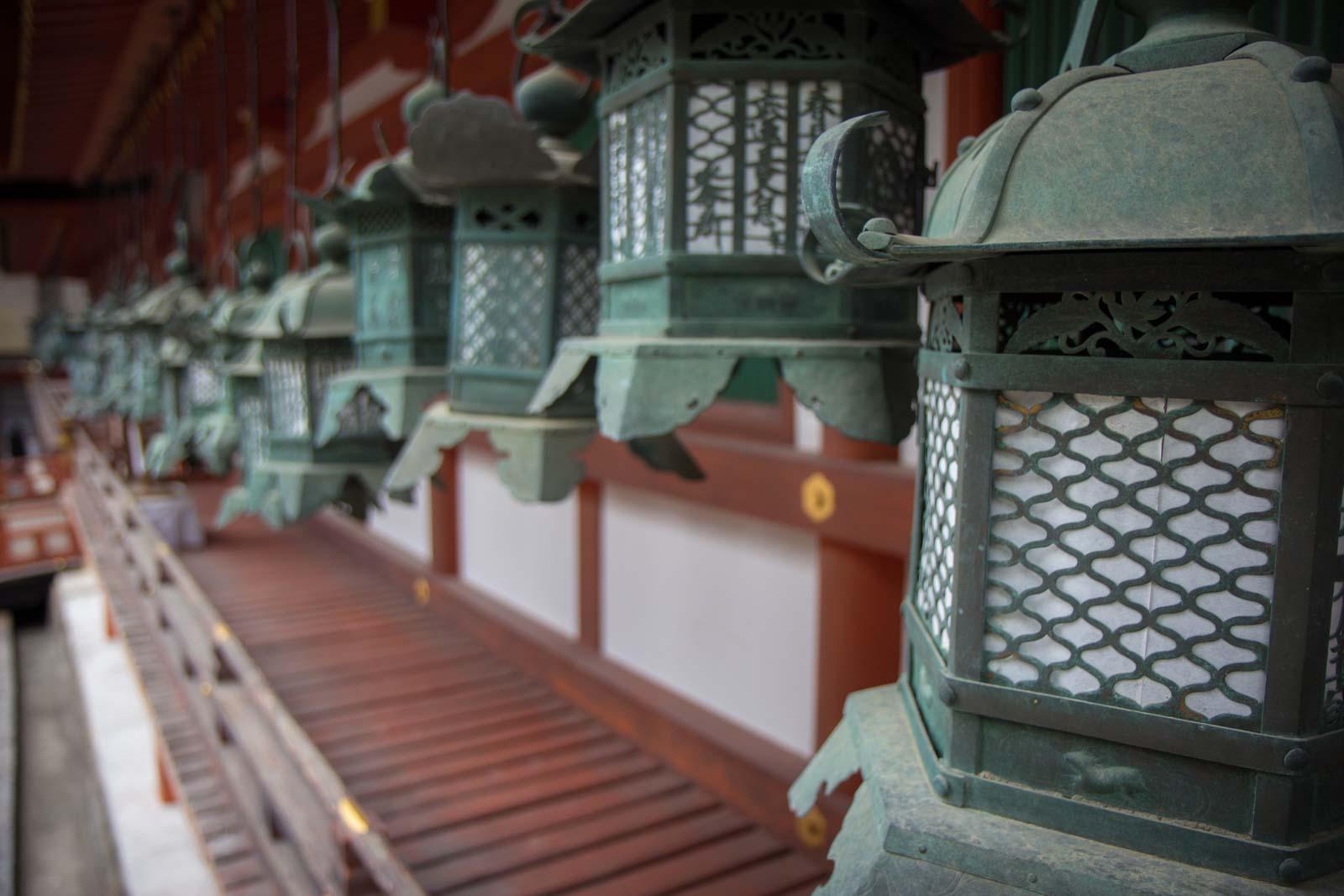 Nara World Heritage temples and shrines, Kyoto, Japan
