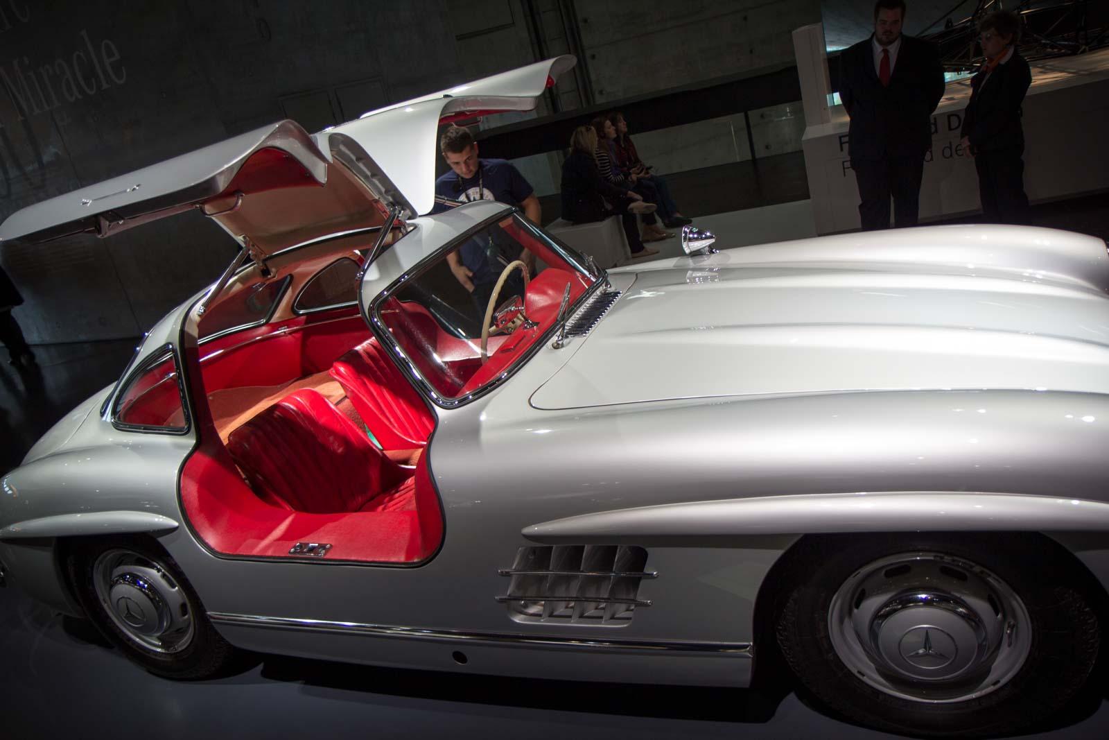 Mercedes-Benz Museum, Stuttgart, Germany