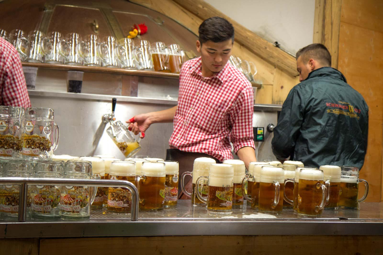 Cannstatter Volksfest, Stuttgart beer festival, Germany