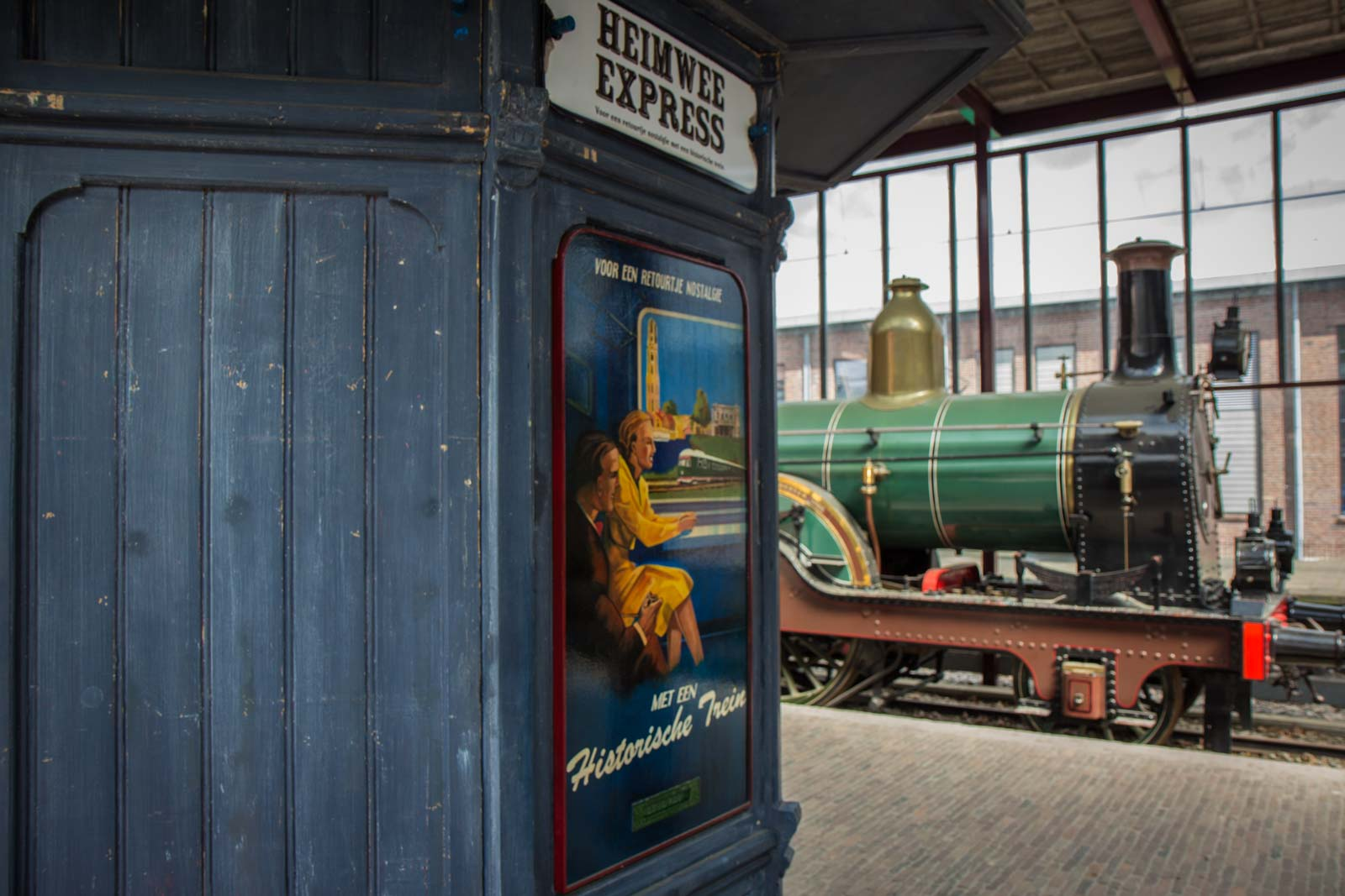 Railway Museum, Utrecht, The Netherlands