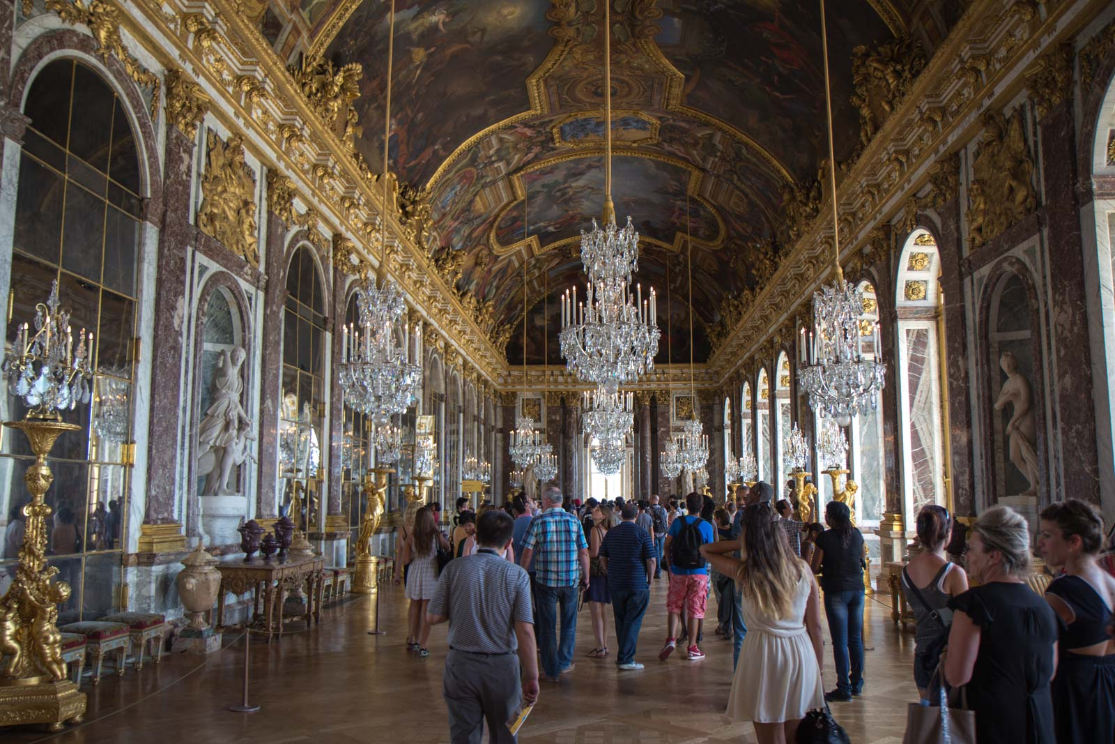 what does versailles symbolize