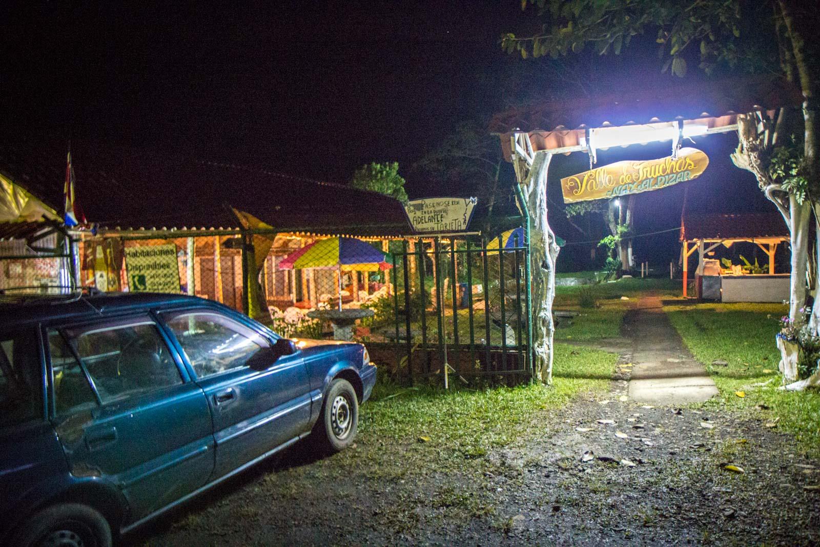 Bajos del Toro, El Silencio, local tour, Costa Rica