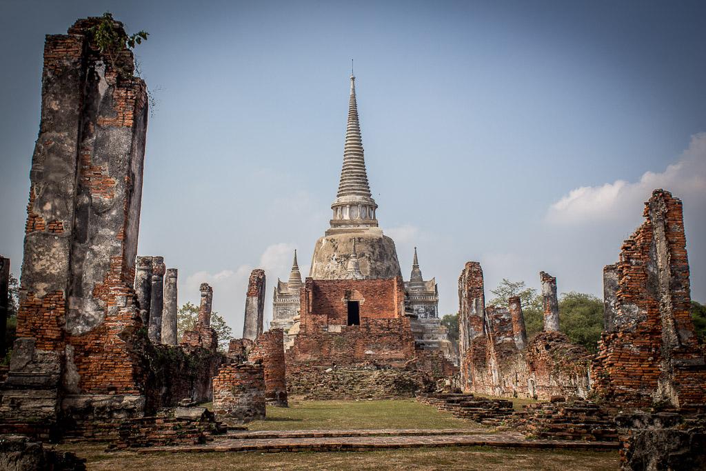 Ayutthaya Thailand And The Temples Of Ayutthaya