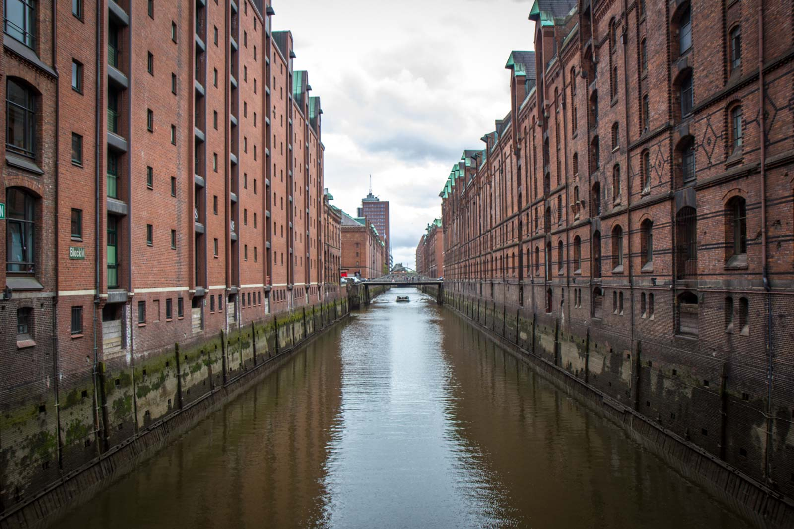 Speicherstadt warehouse district, HafenCity, Hamburg, Germany