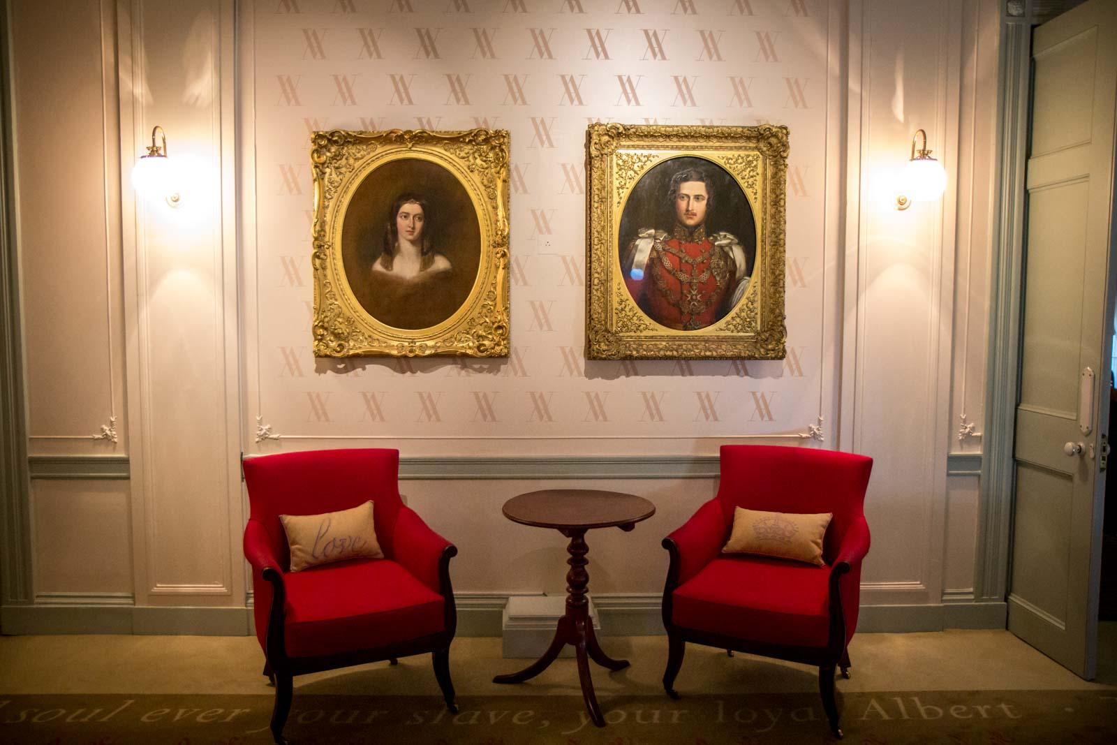 Kensington Palace tour, London, England