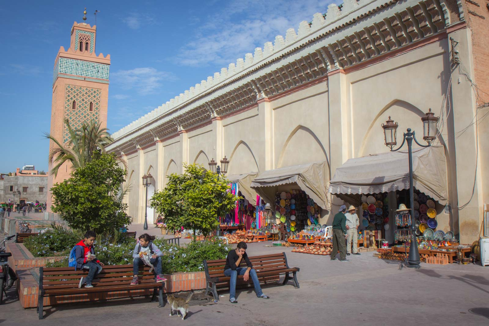 Getting lost in Marrakech in Morocco