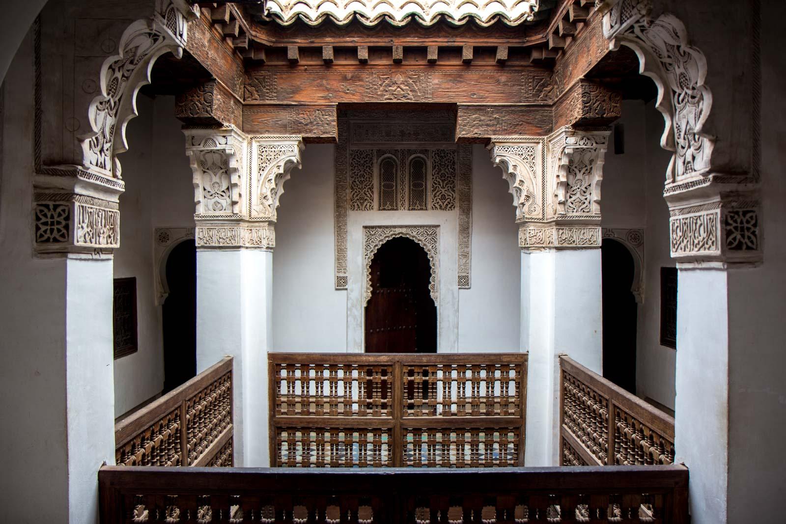 Ben Youssef Madrassa, Marrakech, Morocco