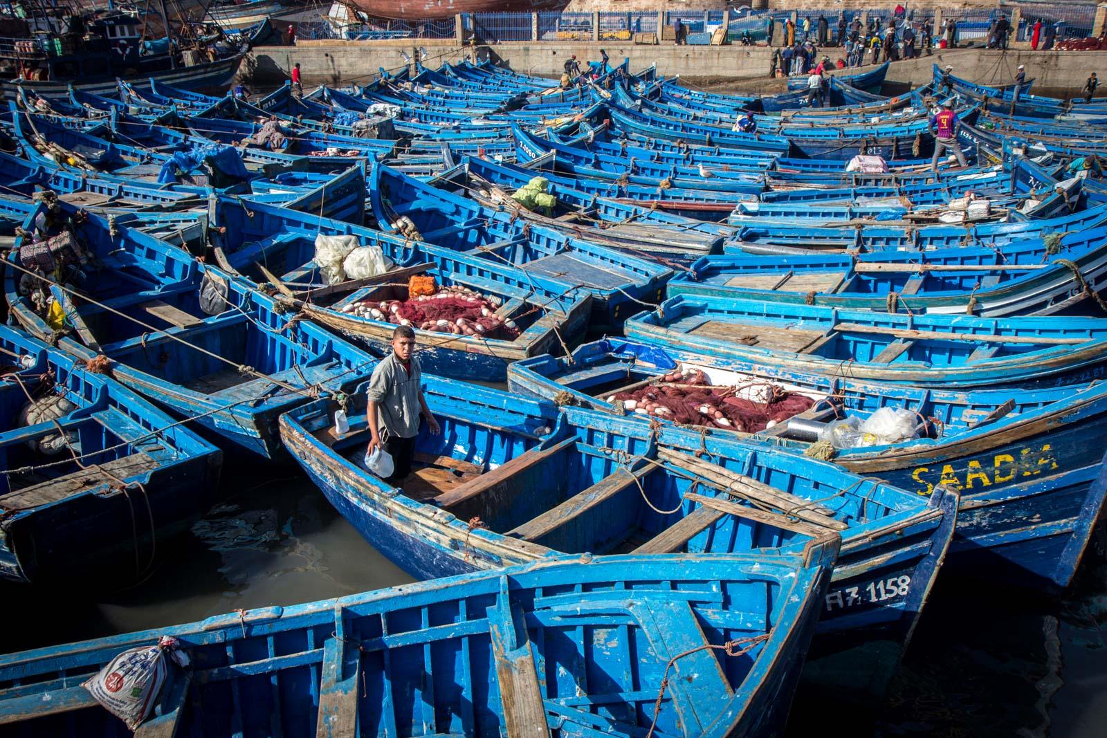 Essaouira Port, Morocco