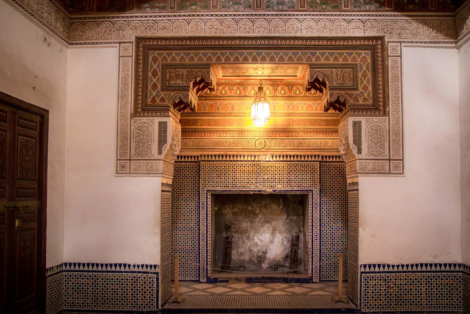 El Bahia Palace, Marrakech, Morocco