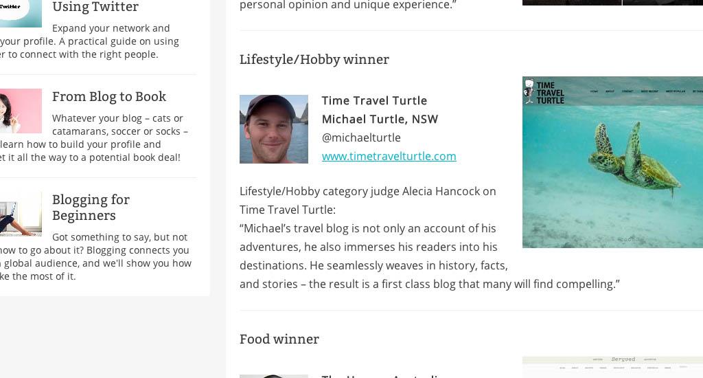 Best Australian travel blog