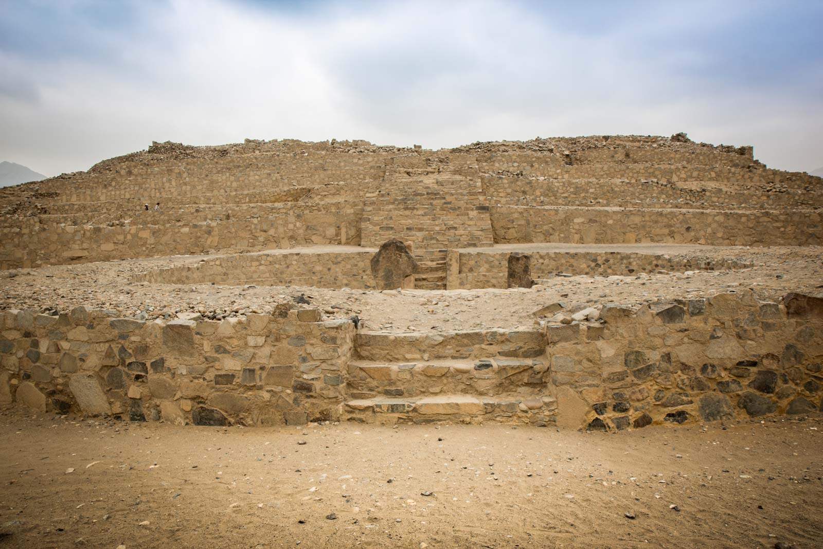Getting to Caral Supe, Peru