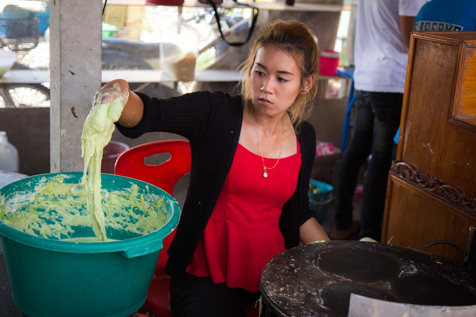 Ayothaya Floating Market, Ayutthaya, Thailand