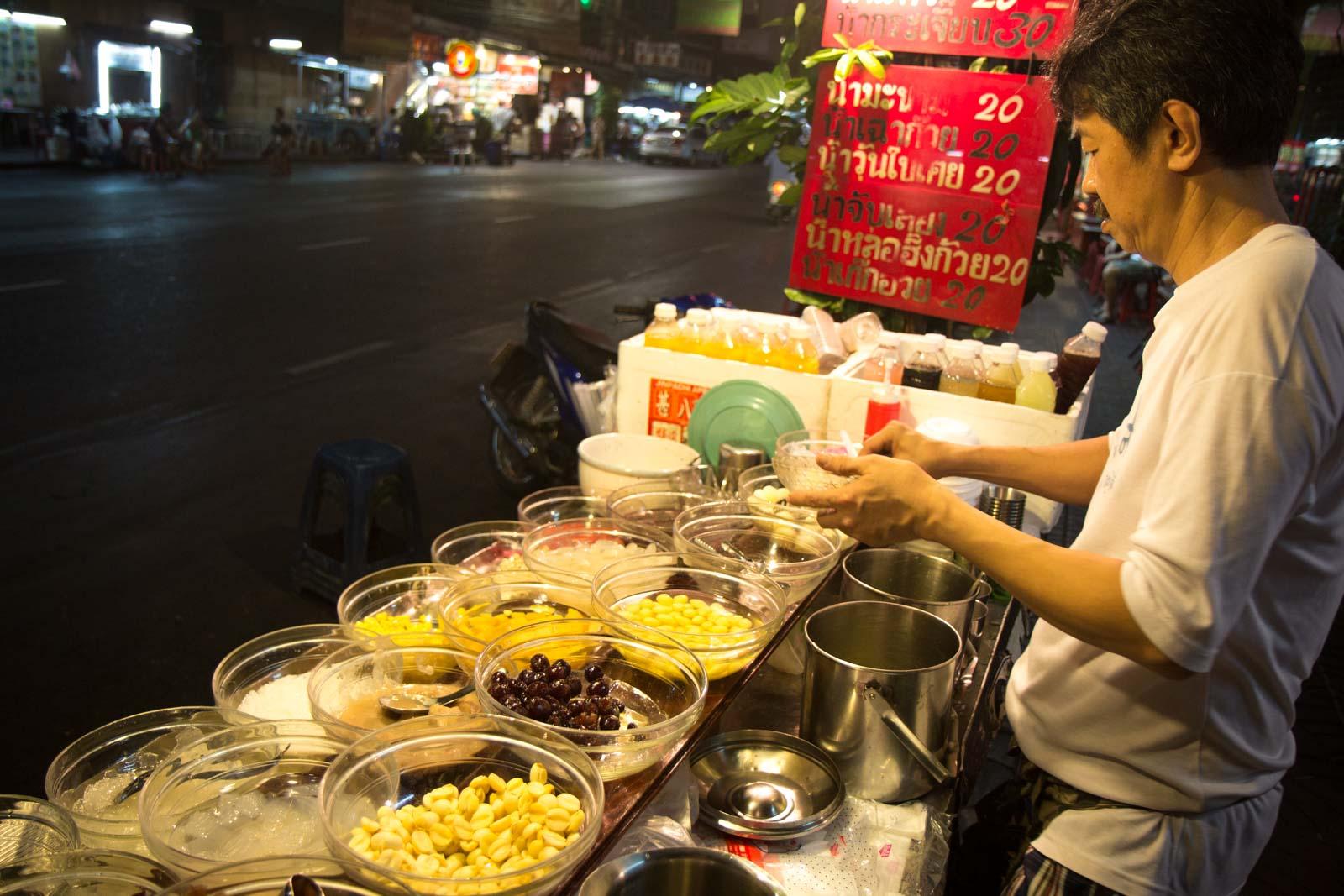 Bangkok night tour by tuk tuk, Thailand