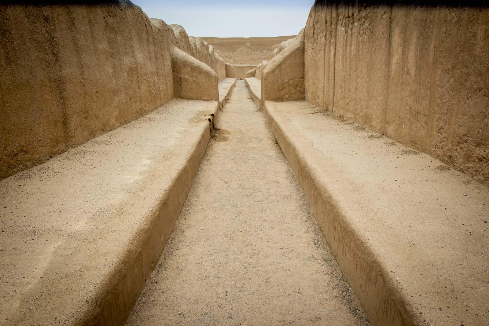 Chan Chan Archaeological Zone, Trujillo, Peru