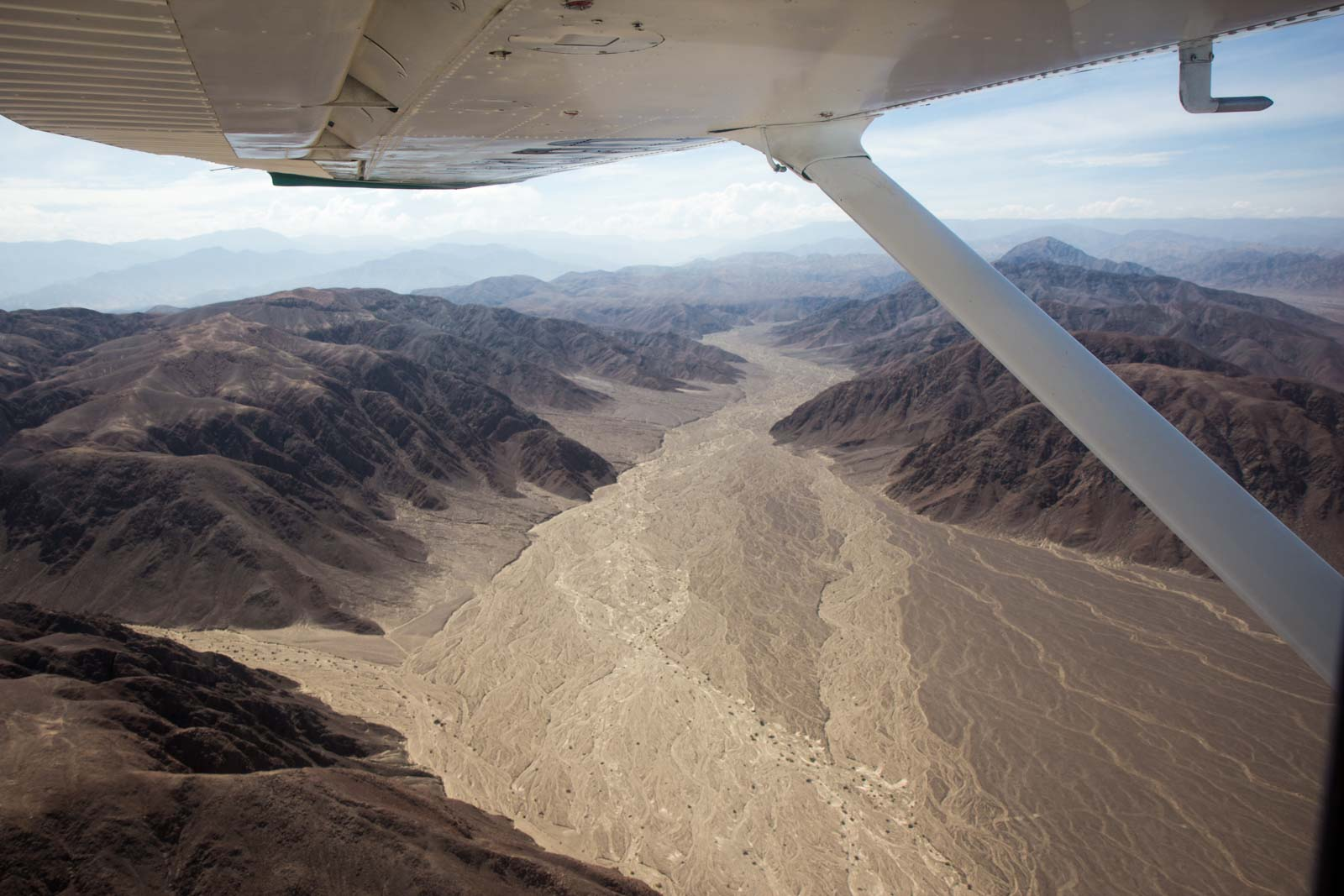 How do you see the Nazca Lines, Peru