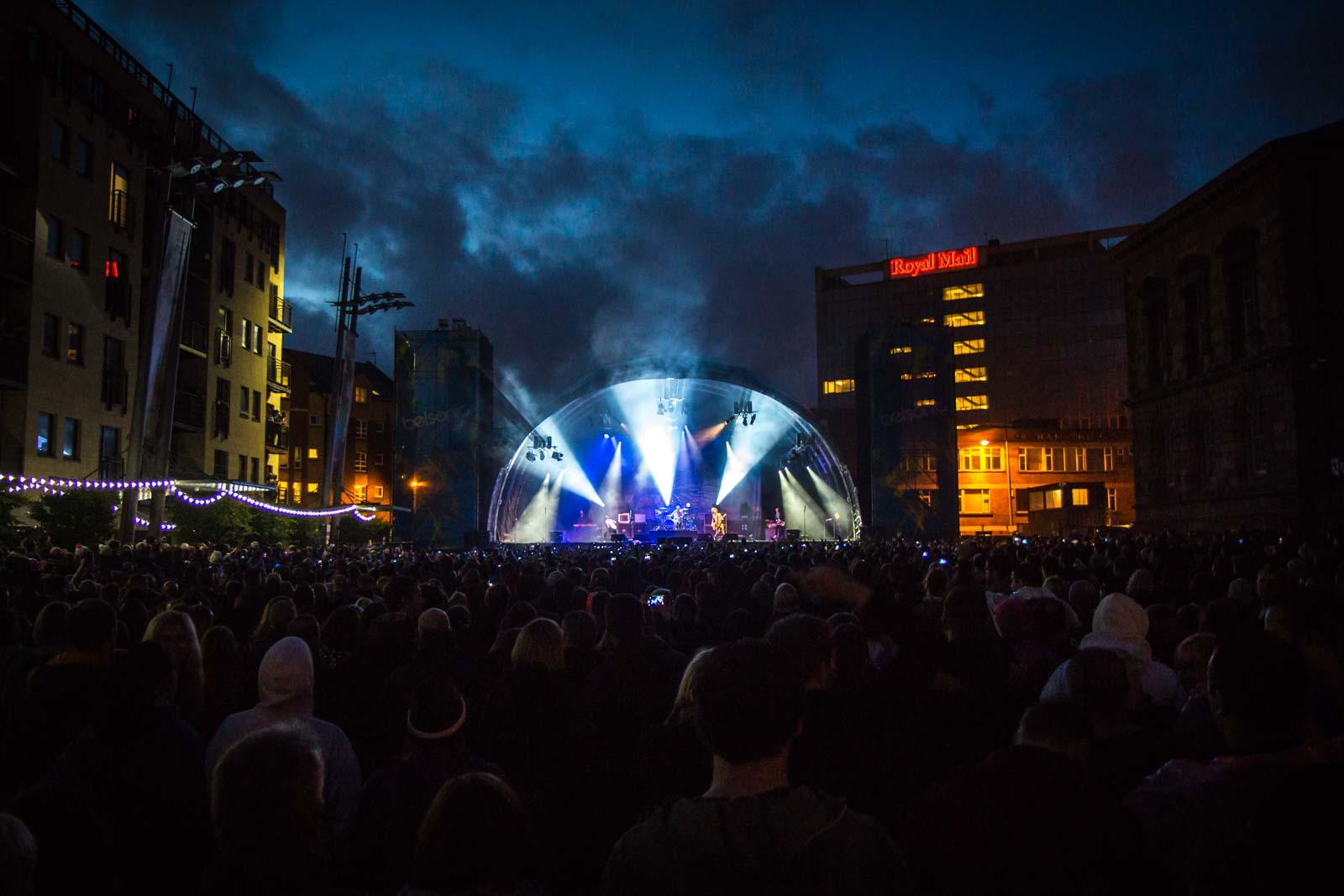 Belsonic Festival, Belfast, Northern Ireland