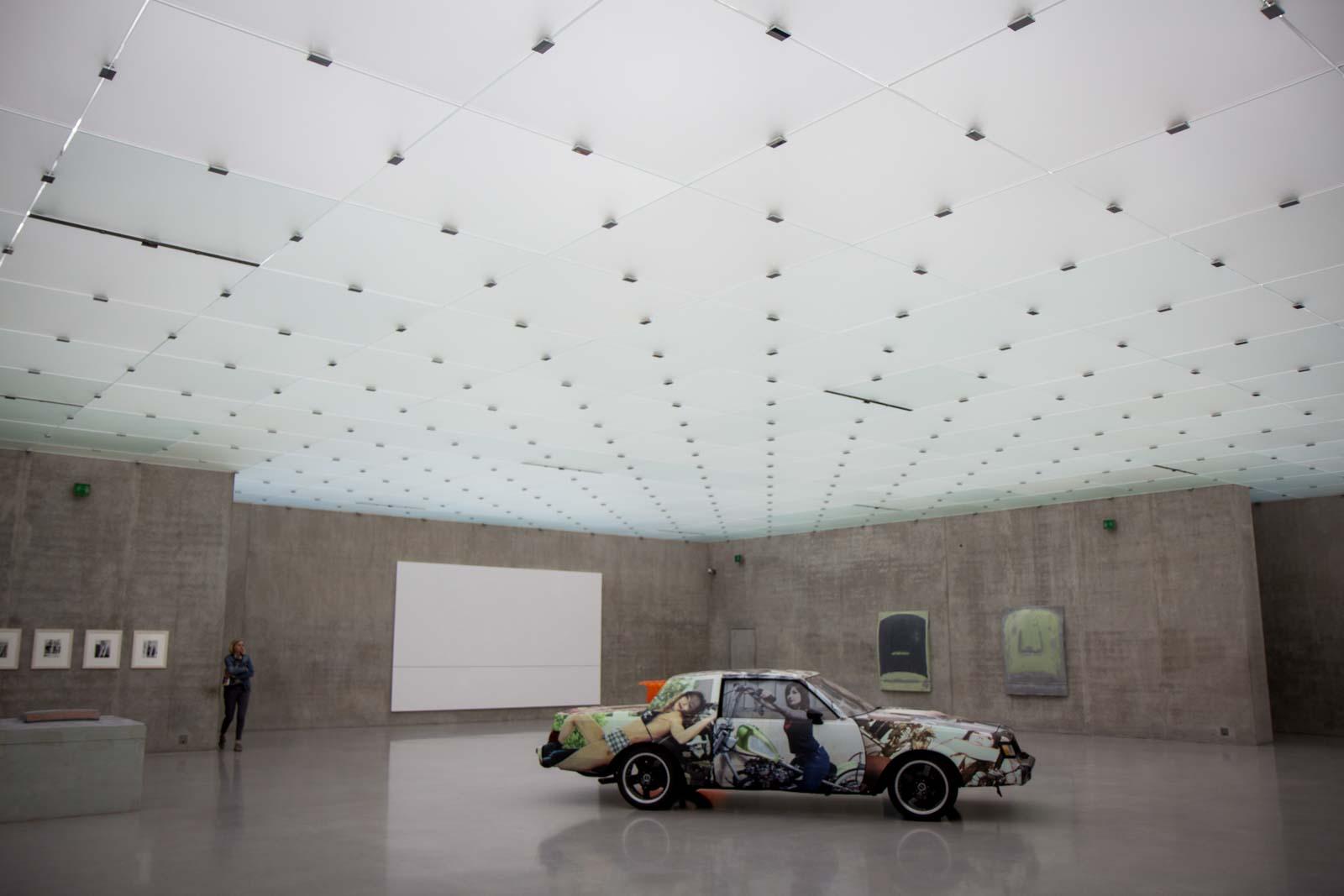 Kunsthaus Bregenz, modern art gallery, Austria