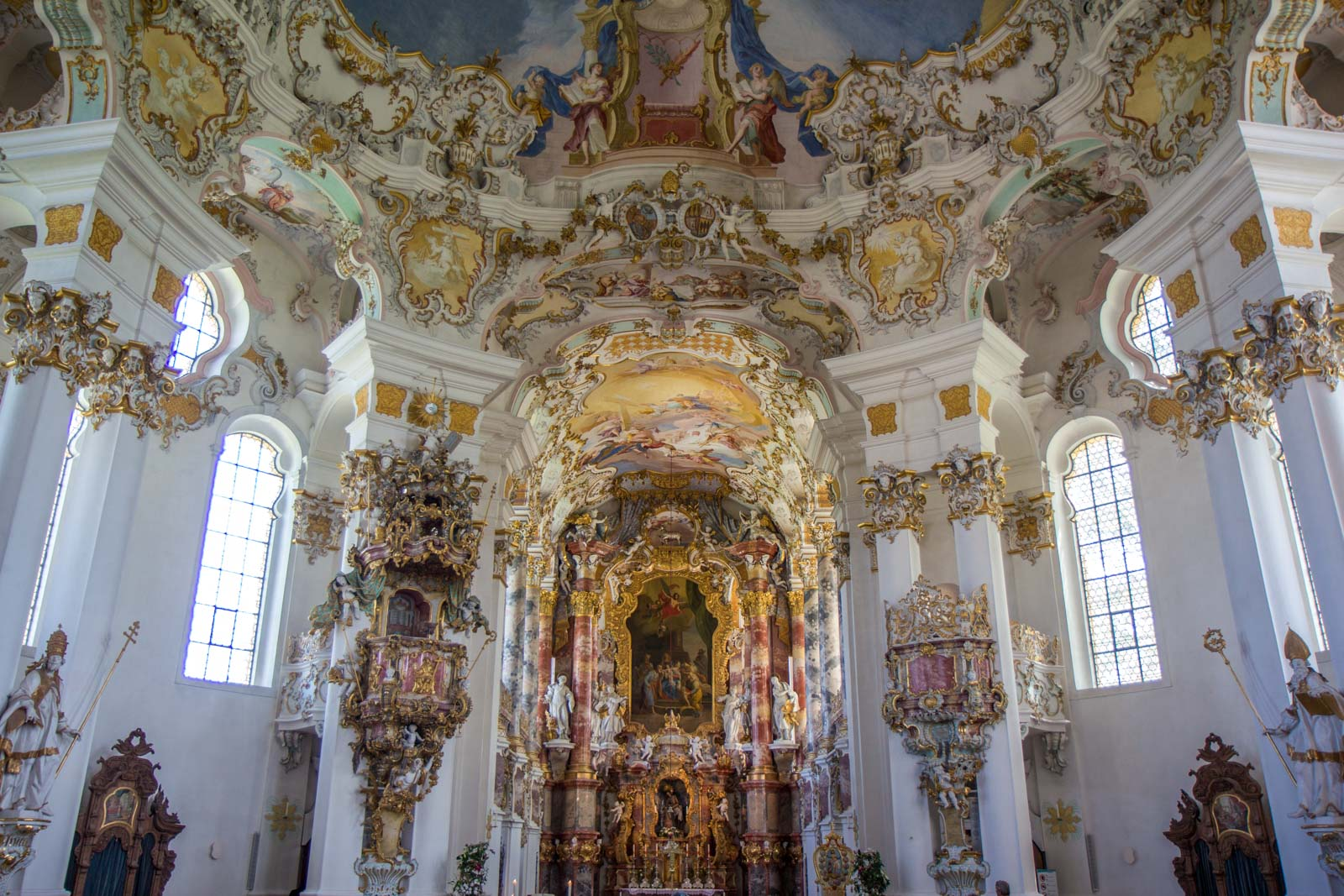 Pilgrimage Church of Wies, Germany